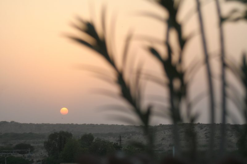 Sunset form Jaisalmer